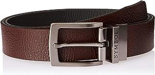 Amazon Brand - Symbol Men's Formal Reversible Leather Belt