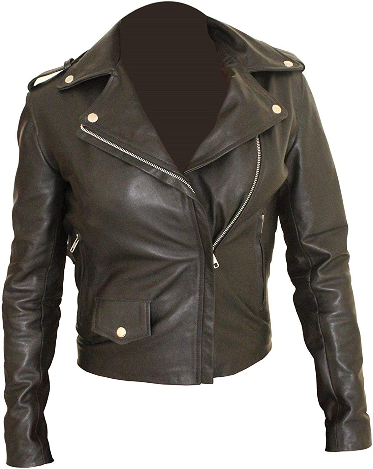 Leather Icon Ritter Slim Jacket Same day shipping OFFer Cosplay Fit Biker