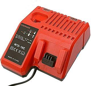 FengBP® Ersätt laddare för Milwaukee M18 M12 18 V 220 V Li-Ionbatteri 48-59-1812 48-59-1807 48-59-1806 48-59-1840 2710-20 ...