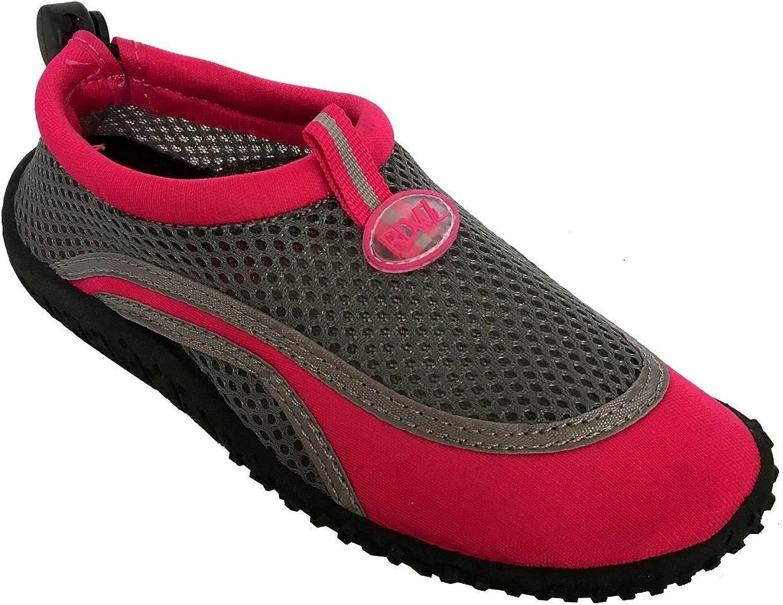 RDVOL Kids Water Shoes Aqua Sock Pool Beach Surfing Hiking Yoga-AquaShield K