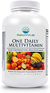 Nature's Lab One Daily Multivitamin - 60 Capsules (2 Month Supply) 21 Essential Vitamins and Minerals, Powerful Antioxidan...