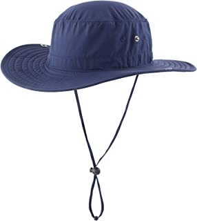 2e3c4f90 Connectyle Outdoor Cowboy Sun Hat Wide Brim Bucket Fishing Hats Summer  String Hat