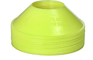 World Sport Mini Disc Cones 25 Pack (11 Colors to Choose from)