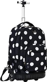 Rockland 48,3cm Rolling Backpack