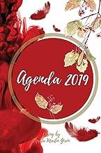 Agenda 2019: Diseño exclusivo. Interior blanco y negro