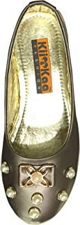 "Kii ""&"" Kaa Girls Slip-On Simple Wear Ballie (Size: 11c-5 for Age Group 4-9 Year)"