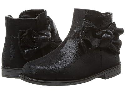 Kid Express Maciele (Toddler) (Black Metallic) Girls Shoes