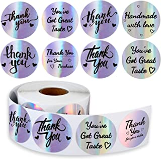 "1.5"" Thank You Stickers (Laser-Series)"