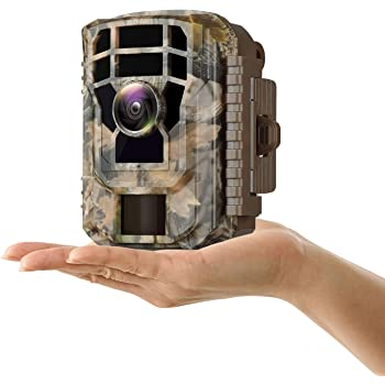 "Campark Mini Trail Camera 16MP 1080P HD Game Camera Waterproof Wildlife Scouting Hunting Cam with 120° Wide Angle Lens and Night Vision 2.0"" LCD IR LEDs"