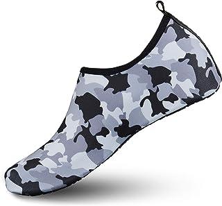 WOWEI Zapatos de Agua Antideslizante Secado Rápido