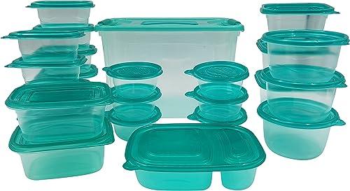 popular 50-Piece online Storage Container wholesale Set Snap On lLds Microwave Top Rack Dishwasher Safe outlet sale
