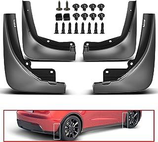 A-Premium 4 Pcs Mud Flaps Splash Guards Fender Mudguard Compatible with Tesla Model Y 2020 2021 Front and Rear