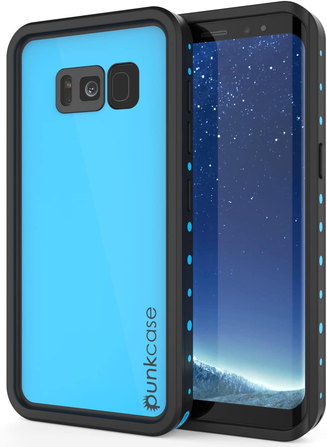 Galaxy In Same day shipping a popularity S8 Plus Waterproof Case Series Slim Punkcase StudStar