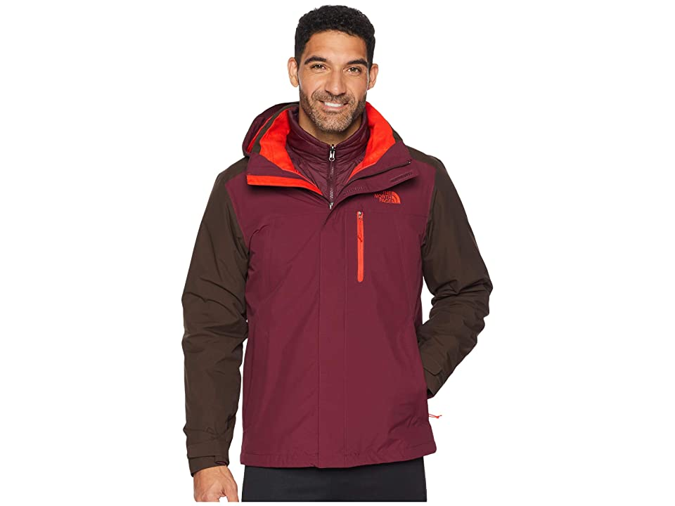The North Face Carto Triclimate Jacket (Bittersweet Brown/Fig) Men