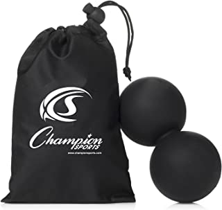Champion Sports Official Lacrosse Balls - Multiple Colors in Packs of 1,2,3,6, and 12