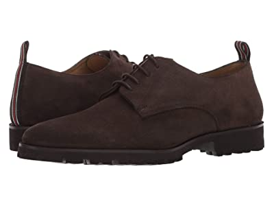 CARLOS by Carlos Santana Power Lite Oxford (Chocolate Calfskin Suede) Men