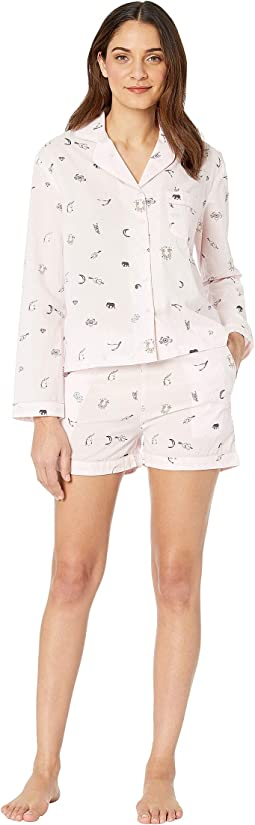Sleep To Dream Cotton Shorty Pajama in Sack