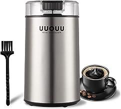 Elektrische Kaffeemühle UUOUU 200W Gewürzmühlen mit Edels