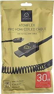 Atomos ATOM4K60C3 HDMI Kabel Mini 30 cm, Cast Connector (60 cm Extended) schwarz