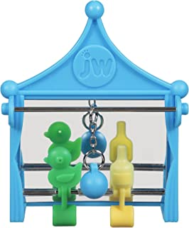 JW Pet Company Activitoy Shooting Gallery Small Bird Toy,  Colors Vary