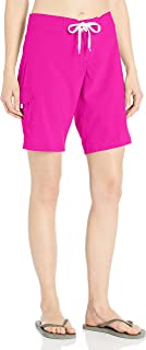 Kanu Surf Women's Marina Solid Stretch Boardshort, Pink, 8