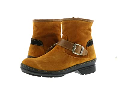 Wolky Nitra Waterproof (Dark Ochre Liverpool Suede) Women