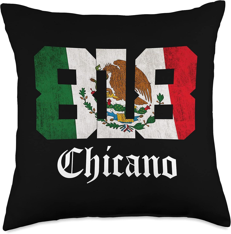 California 818 Area Code Chicano Mens Flag New sales Mexican Chica Popular popular Apparel
