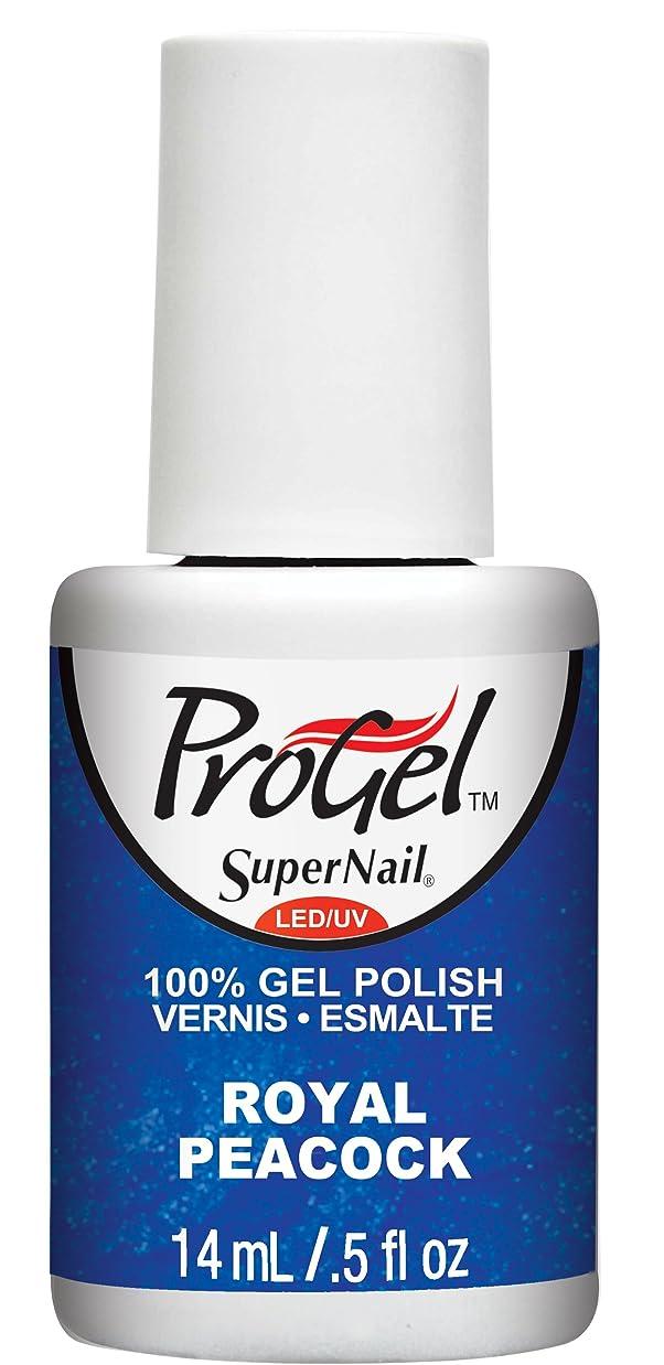 十億転倒第四SuperNail ProGel Gel Polish - Royal Peacock - 0.5oz / 14ml