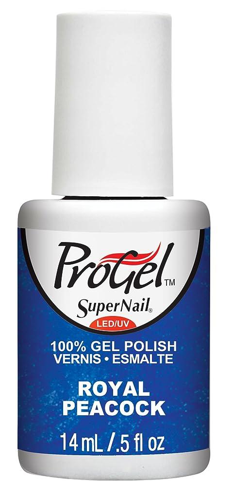 指定する理論的きしむSuperNail ProGel Gel Polish - Royal Peacock - 0.5oz / 14ml