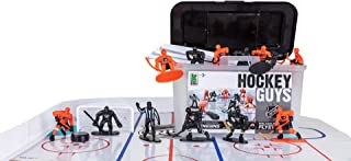 Kaskey Kids NHL Hockey GUYS – Penguins vs. Flyers - Inspires Kids Imaginations with Endless Hours of Creative, Open-Ended Play – Includes 2 teams & accessories – 25 pieces in every set