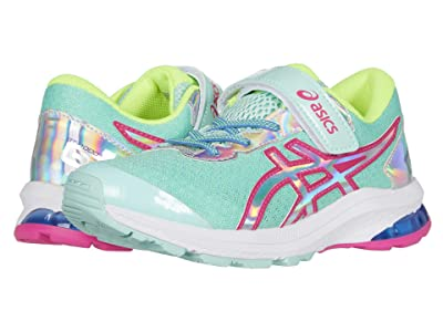 ASICS Kids GT-1000 9 Summer Lux (Toddler/Little Kid) (Fresh Ice/Pink Glo) Girls Shoes