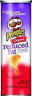 PringlesPotato Crisps Chips, Reduced Fat, Original Flavored, 4.9 oz Can