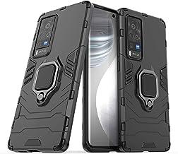 N\B Phone Case for vivo X60 Pro 5G,Ring Holder Case for vivo X60 Pro 5G, Finger Loop Case with 360 Degree Rotatory Ring St...