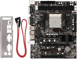 Bewinner Placa Base de PC de Escritorio, DDR2 / DDR3 Placa Base de Escritorio de 4 Puertos USB para AM2 / AM3 Phenom II/Athlon II/Sempron y Otros procesadores, Soporte Raro para Interfaz IDE