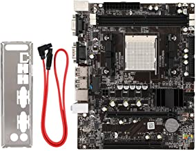 Bewinner Desktop PC Motherboard,DDR2/DDR3 4 USB Port Desktop Mainboard for AM2/AM3 Phenom II/Athlon II/Sempron and Other Processors,Rare Support for IDE Interface