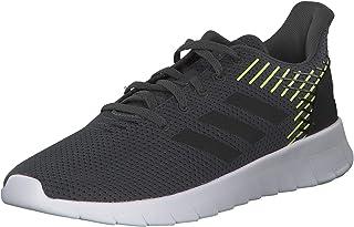 Adidas Asweerun Shoes, Men's Running Shoes, Grey (Grey Six/Core Black/Hi-Res Yellow), 10 UK (44 2/3 EU)