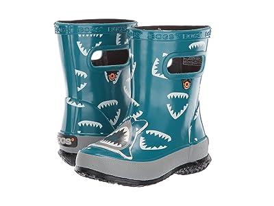 Bogs Kids Skipper Animals (Toddler/Little Kid) (Shark Dark Blue Multi) Boys Shoes