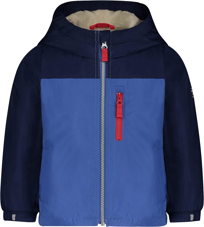 OshKosh B'Gosh Baby Boys' Midweight Fleece Lined Windbreaker Jacket