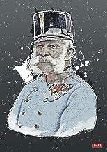Franz Joseph Notizbuch: Notizen auf 120 Seiten A4 glatt (German Edition)