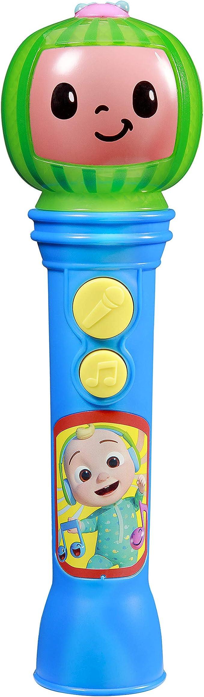 Cocomelon מיקרופון צעצוע לילדים, צעצוע מוזיקלי לפעוטות עם - צעצועים מוזיקליים
