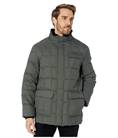 Tumi Puffer Box Quilt Jacket (Military) Men