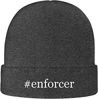One Legging it Around #Enforcer - Soft Hashtag Adult Beanie Cap