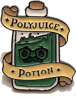 giulyscreations Spille Harry Potter Metallo Nichel Free Ispirate Pozioni Felix Felicis Amortentia Veritaserum Polisucco Po...