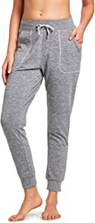 BALEAF Women's Active Yoga Sweatpants Fleece Lined Lounge Sweat Pants Thermal Athletic Workout Joggers Pants Side Pocket