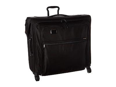 Tumi Alpha 3 Extended Trip 4 Wheeled Garment Bag (Black) Luggage
