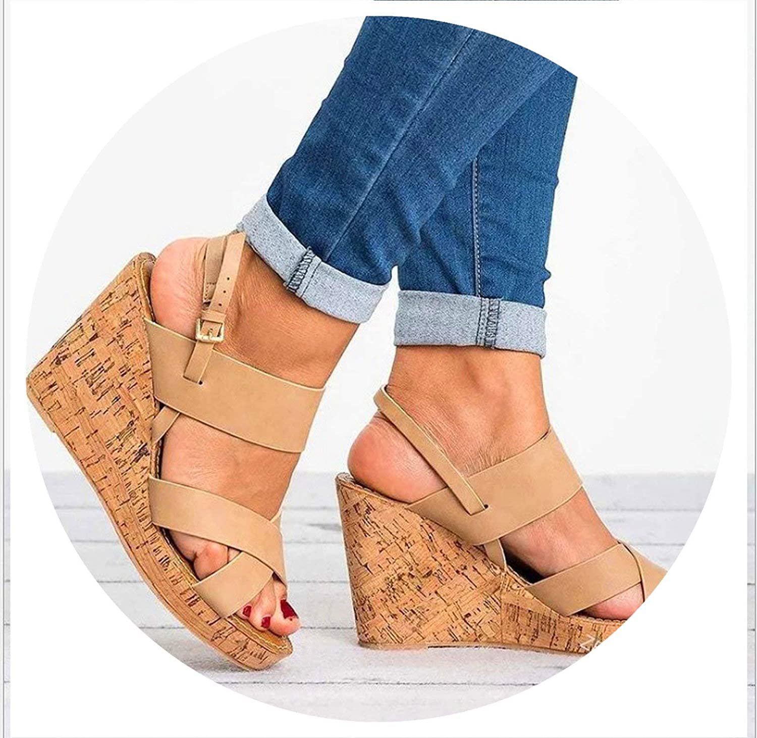 Our ideas Designer Platform Sandal 2019 Front Rear Strap Open Toe Women Sandals Designer shoes