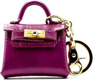 Portachiavi Portamonete Forma Borsa Laccio Shopping In Pelle Lavorazione Artigianale - Made In Italy | FP Pelletterie – De...