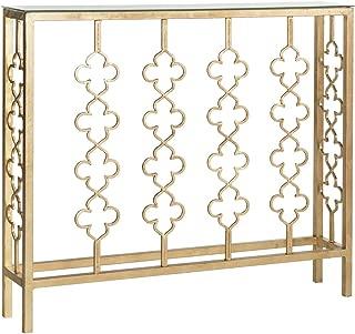 Best safavieh carolina antique gold leaf console table Reviews