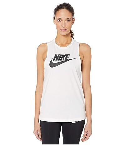 Nike NSW Tank Muscle Essential Futura (White) Women