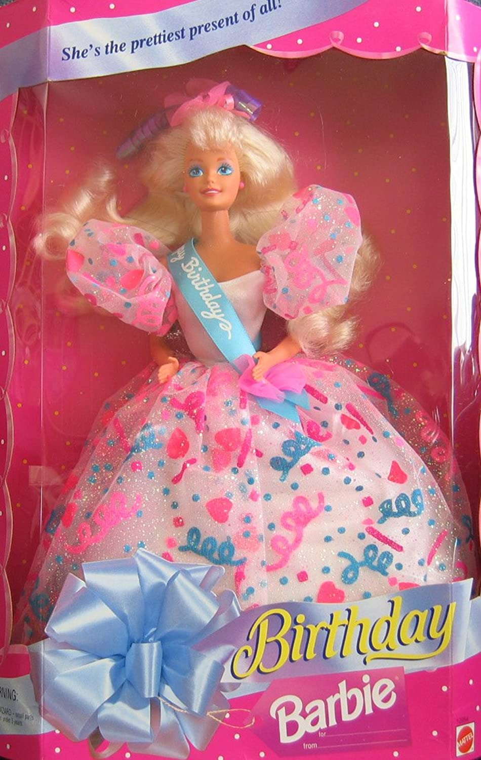 Birthday BARBIE Doll She's The Prettiest Present of All  (1994)